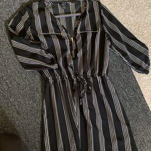silk material dress